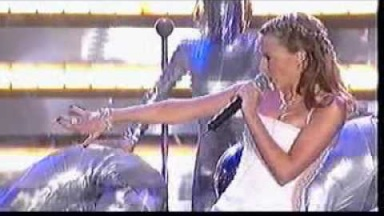 "Kylie Minogue ""Can'nt get you out of my head live 2002 Brit Awards"""