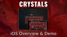 Crystals Harmonizer Pitch, Delay & Reverb Plugin for iOS AUv3 (Demo)