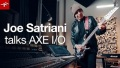 Joe Satriani talks AXE I/O and AmpliTube for recording guitar