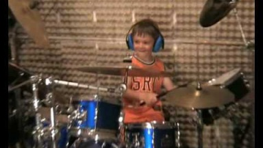 Igor Falecki You Tube drummer - 4 years old,sabian,groove,bit cover,talent,style