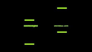Cosmic Gate - Universal Love