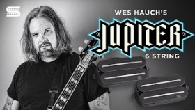 Wes Hauch on his Signature Jupiter 6-String Rails Humbucker Set | Seymour Duncan