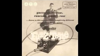 Maestro Fuzz-Tone FZ-1. Demonstration Record 1962.