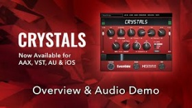 Eventide Crystals (Pitch, Delay & Reverb) Plug-in Audio Demo