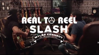 SLASH - Real to Reel, Part 6 - Slash Talks About Writing & Recording New Album