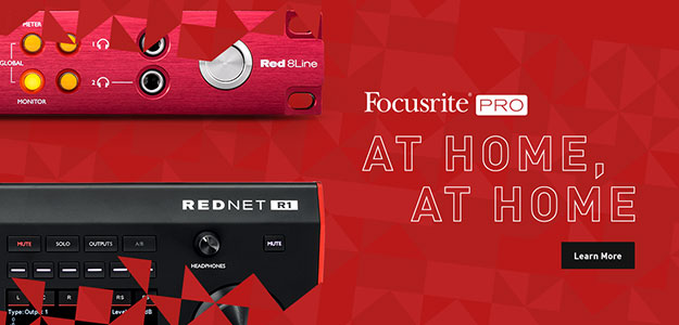 At Home, At Home - Live stream z Focusrite Pro