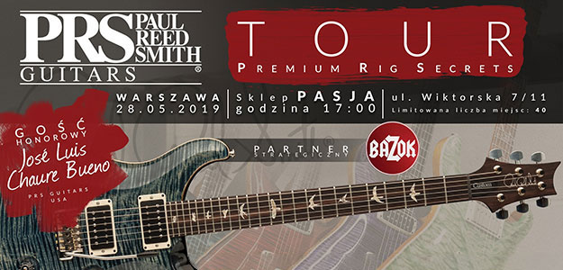 PRS Guitars TOUR