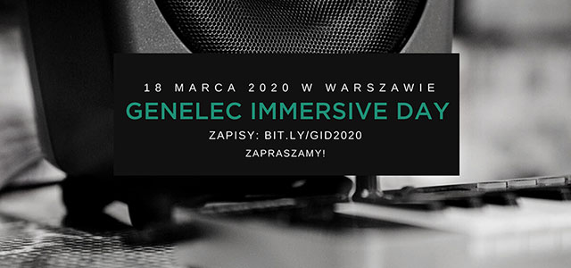 Genelec Immersive Day