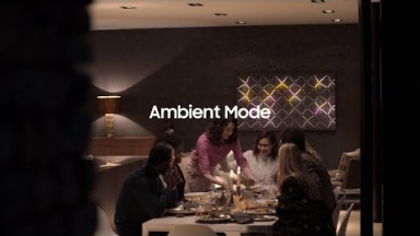 2019 QLED Feature Film: Ambient Mode | Samsung